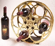 Deluxe  Movie Reel Wine Rack