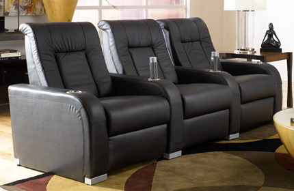 Seatcraft High Roller Home Theater Seating