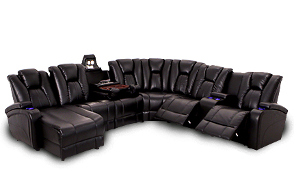 Seatcraft Innovator Theater Sectional