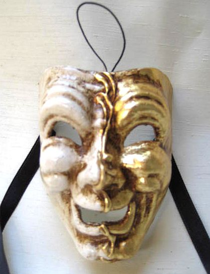 Comedy Theater Mask Miniature