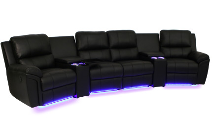 ... Seatcraft Madison Home Theater Sectional