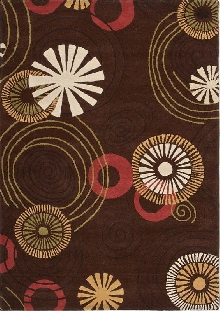 Mansoori Area Rug with Flower Design