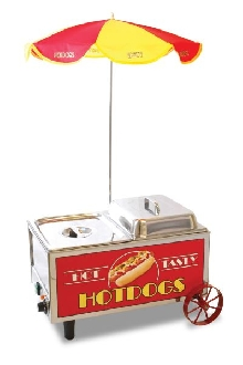 Hotdog Mini Cart