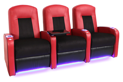 Seatcraft Rapture Space Saver Home Theater Seating