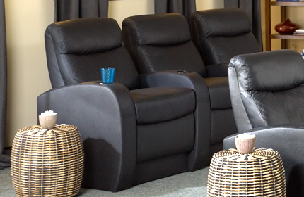 Seatcraft Rialto Back Row Home Theater Seating