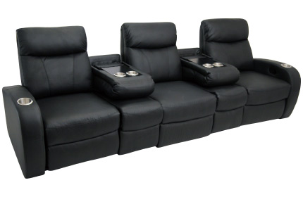 Seatcraft Rialto Flip Arm Home Theater Seating