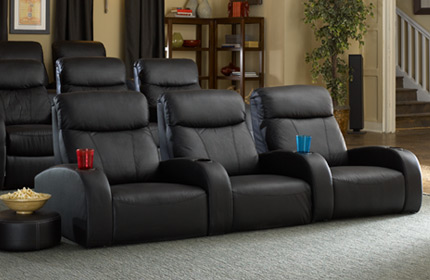 Seatcraft Rialto Front Row Home Theater Seating