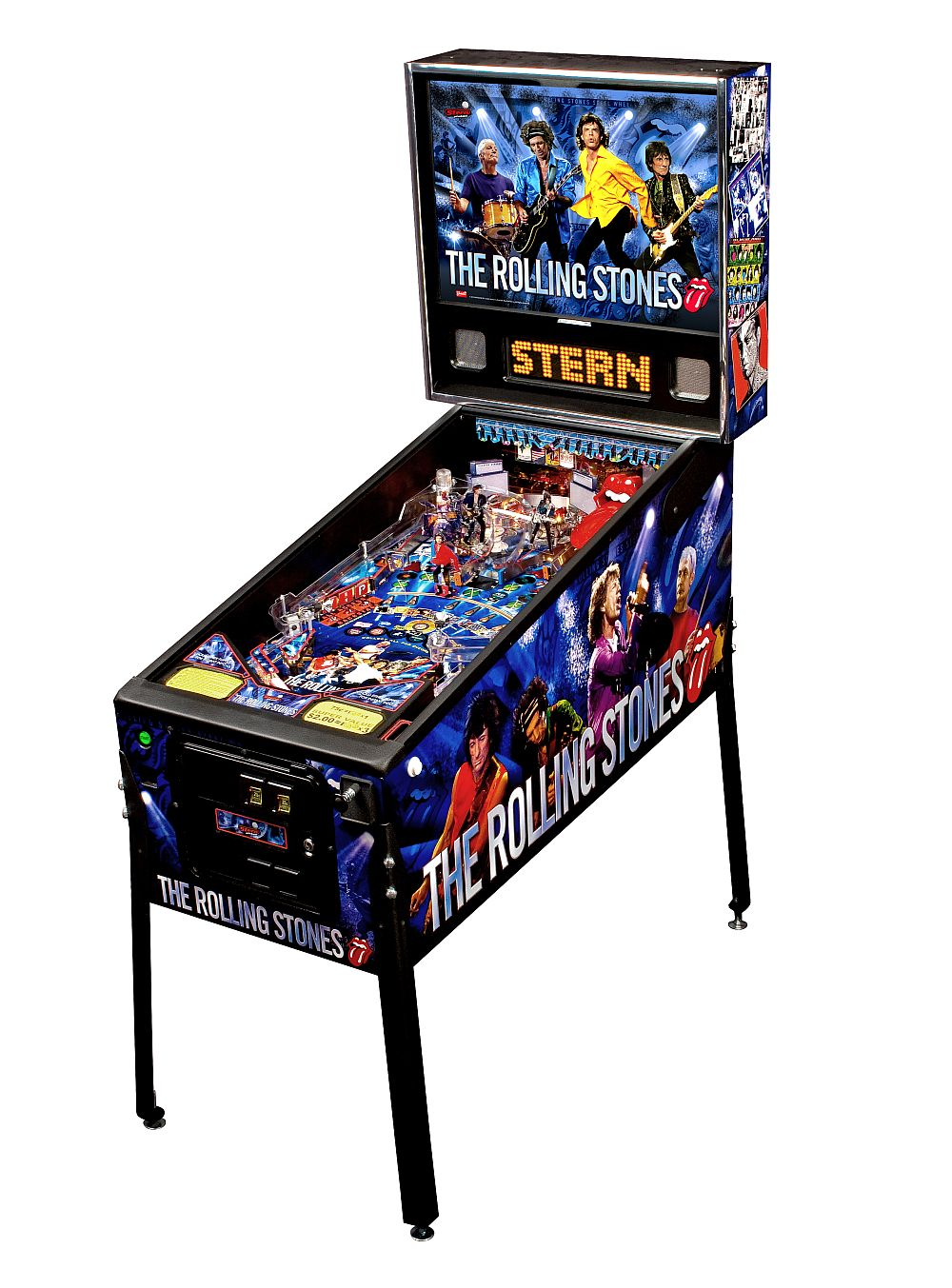 Pre-Order! Rolling Stones Pro Pinball Machine
