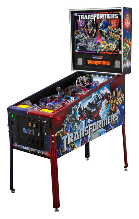 Transformer Limited Edition Pinball Machine