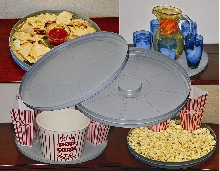 Reel Can Serving Tray