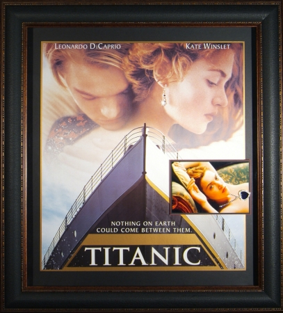"""Titanic"" Movie Poster with Prop"
