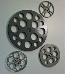 Theatre Set Natural: Set of 4 Film Reels