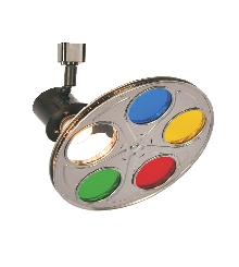 "Track Light Color Reel 10"" RGBY 8mm Steel Reel"