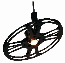 "Deluxe Track 13 3/4"" 16 MM Can Reel Light Fixture"