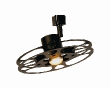"Deluxe Track 9 1/4"" 16 MM Can Reel Light Fixture"