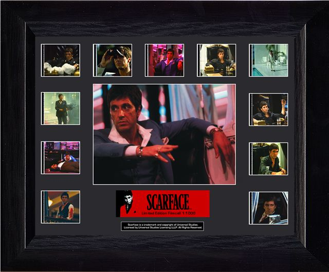 Scarface Mini Montage (Series 2) Film Cell