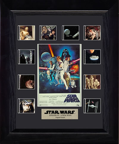 Star Wars - Episode IV - A New Hope Mini Montage - Special Edition Film Cell