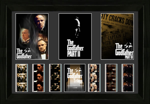 The Godfather Trilogy Film Cell