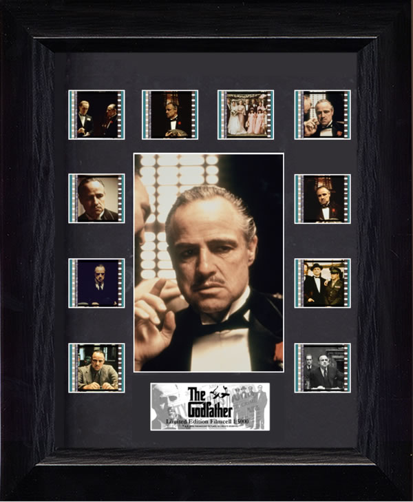 The Godfather Mini Montage Film Cell