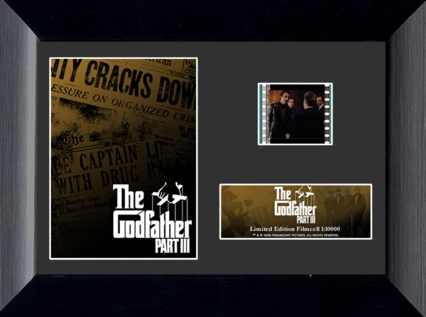 The Godfather Part III Mini Film Cell