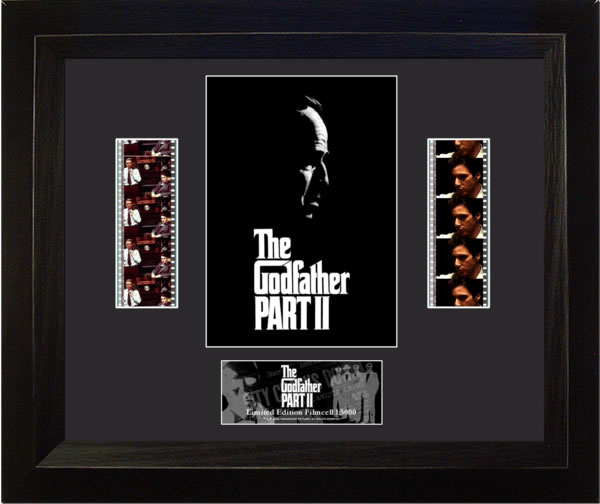 The Godfather II Poster Double Film Cell