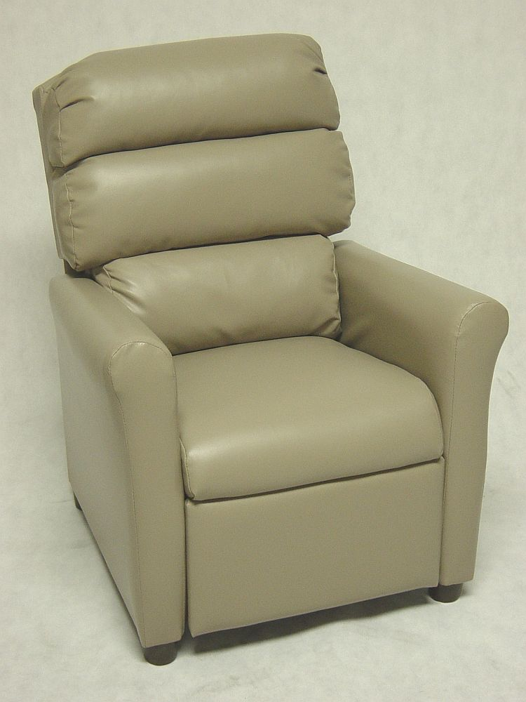 Kids Theater Recliner with Waterfall Back