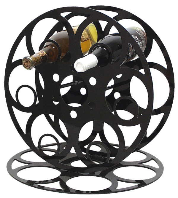 Movie Reel Theater Wine Rack