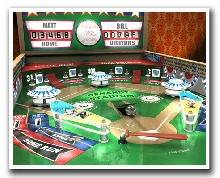 Personalized Baseball Pinball Print