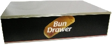 Dry Bun Box for Hot Dog Roller Grill