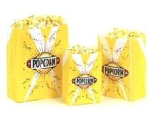 Popcorn Butter Bags - 3 oz. Medium (100/case)