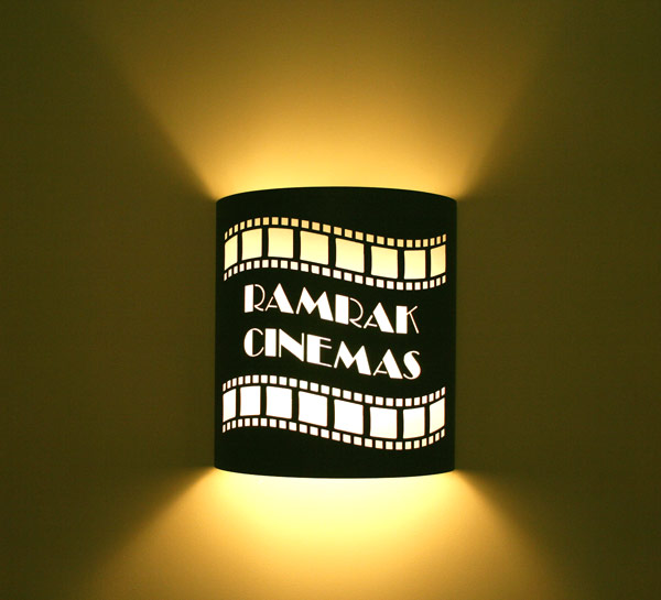 Custom Theater Sconce