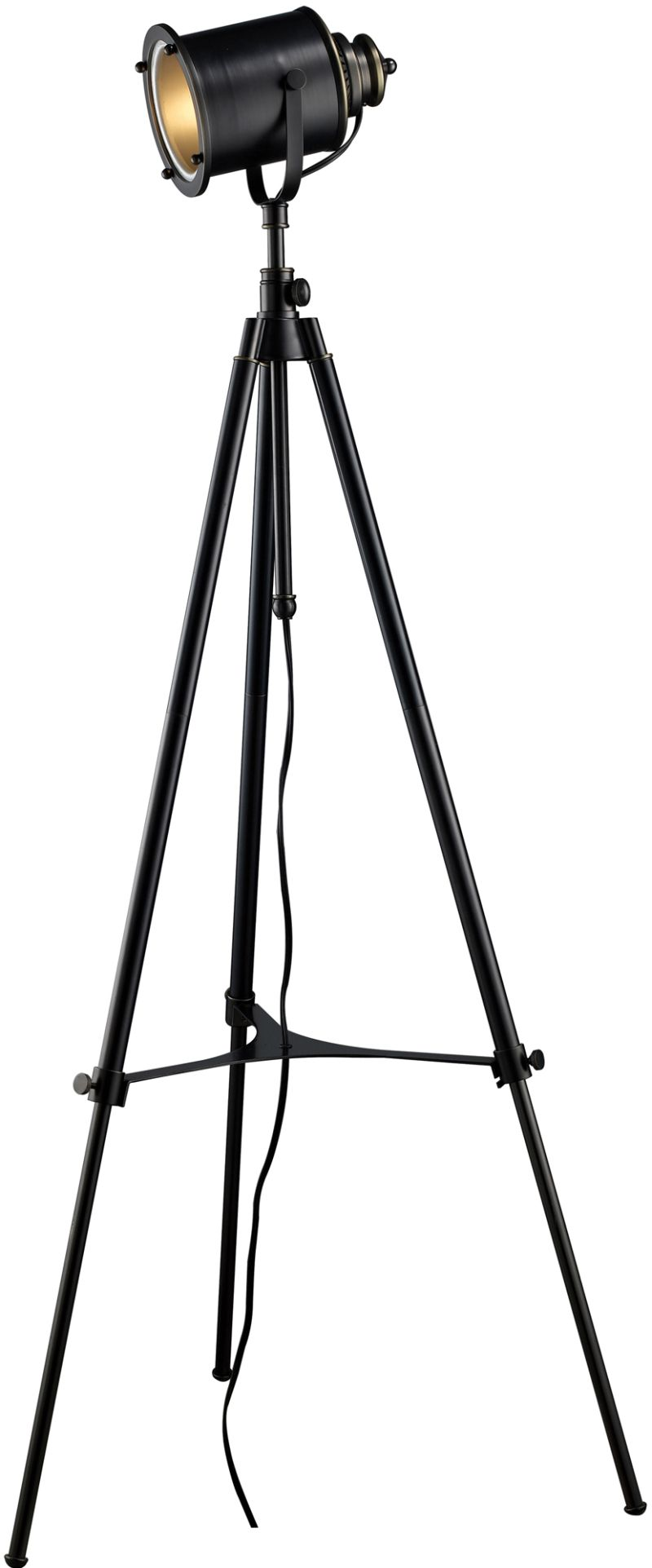 Adjule Tripod Movie Studio Floor Lamp