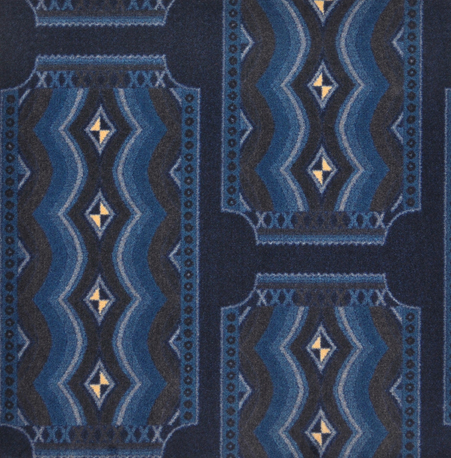 Art Deco Home Theater Carpet