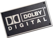 Aluminum Dolby Digital Plaque