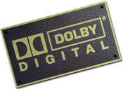 Bronze Dolby Digital Plaque