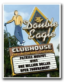 Personalized  Double Eagle Golf Print! (Male)