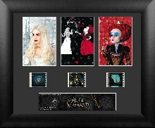 Alice in Wonderland Red & White Queen Triple Frame Film Cell