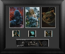 Alice in Wonderland Triple Frame Film Cell
