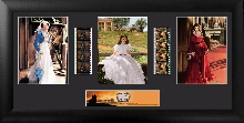 Gone With The Wind (S4) Trio Film Cell