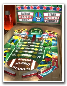 Personalized Football Pinball Print