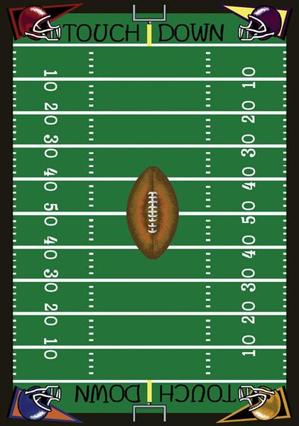 graphic about Printable Football Field titled Soccer Business Rug - Stargate Cinema