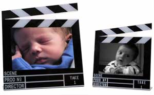 Clapboard Photo Frames (Horizontal)