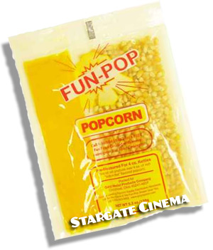 4 oz FunPop/MegaPop Popcorn Packs (36 per case)