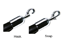 "Snap or Hook End for 1.5"" Rope"