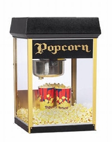 Fun Pop 8 oz Popcorn Machine Black