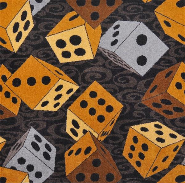 Dice Roll Casino Carpet