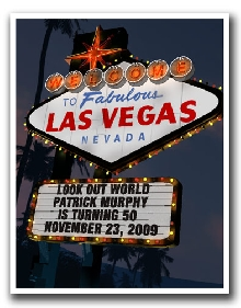Welcome to Las Vegas Personalized Night Print!