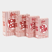 Popcorn Boxes - 1.25 oz Large (100/case)