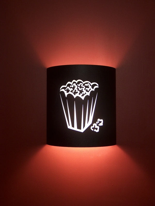 Popcorn Theater Sconce