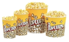 Popcorn Buckets - 130 oz. (50/case)